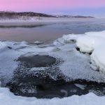 Winter view Senja